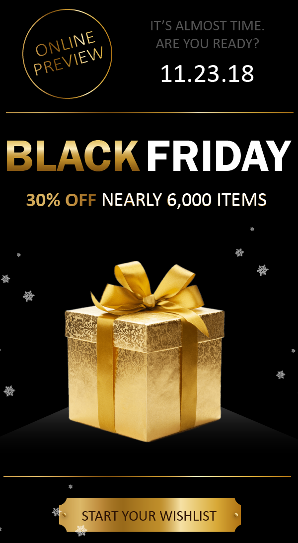 Black Friday Preview: 30% Off Over 5,000 Puzzles