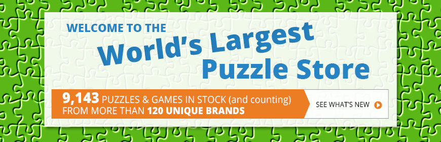 Welcome to the World's Largest Puzzle Store - 9143 Puzzles in Stock