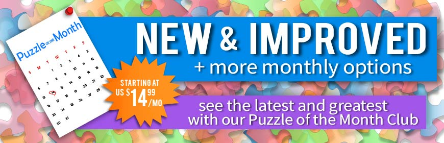 Puzzle of the Month Club - $14.99/mo