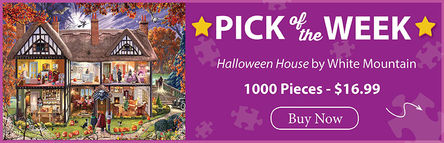The Puzzle Warehouse Pick of the Week - Halloween House by White Mountain