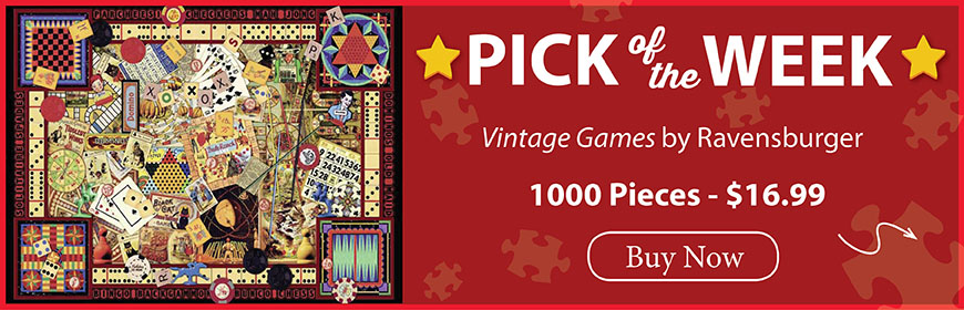 The Puzzle Warehouse Pick of the Week - Vintage Games by Ravensburger