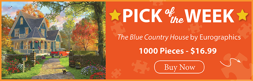 The Puzzle Warehouse Pick of the Week - The Blue Country House by Eurographics