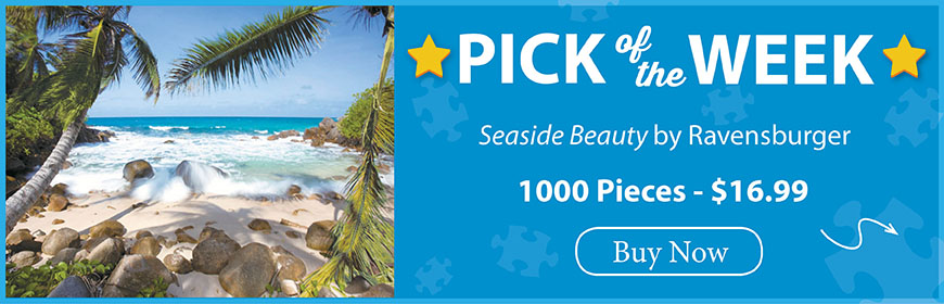 The Puzzle Warehouse Pick of the Week - Seaside Beauty by Ravensburger