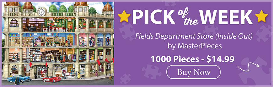 The Puzzle Warehouse Pick of the Week - Fields Department Store (Inside Out) by MasterPieces