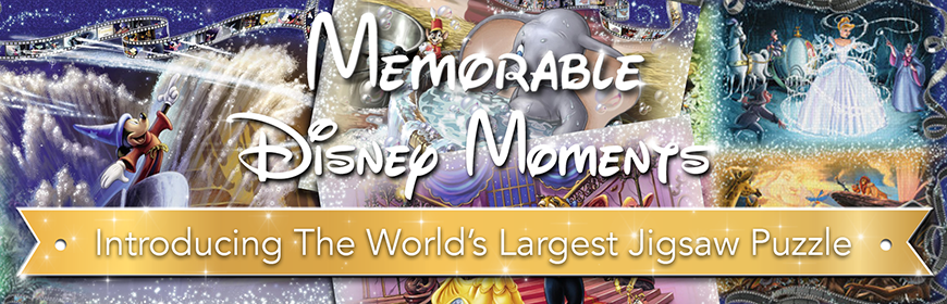 Memorable Disney Moments - World's Largest Puzzle by Ravensburger!