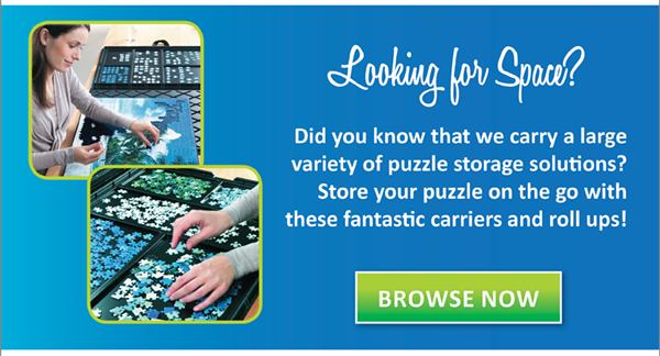 Did you know that Puzzle Warehouse carries a variety of storage solutions for your Puzzle?