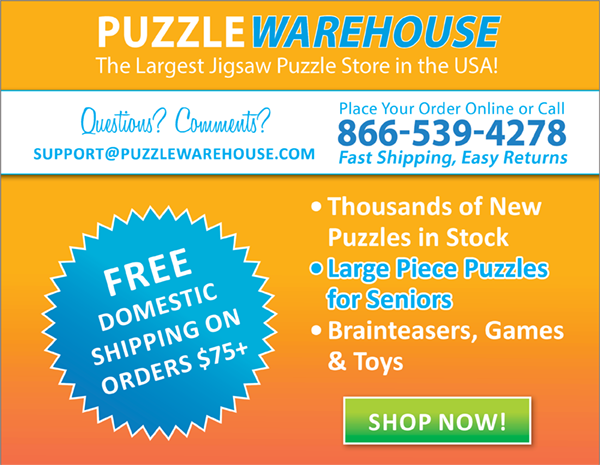 Puzzle Warehouse is the largest Jigsaw Puzzle Store in the World!