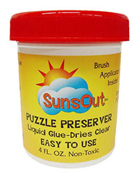 Suns Out Jigsaw Puzzle Preserver Glue