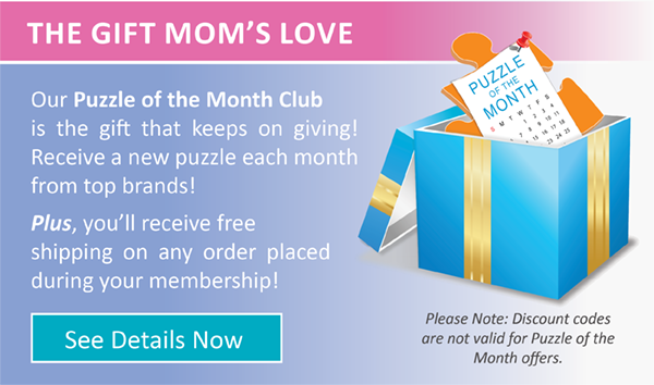 Puzzle of the Month is the perfect gift for every mom!