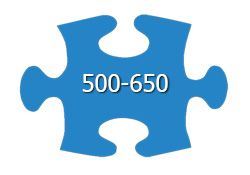 Jigsaw Puzzles With 500-650 Pieces