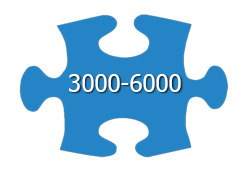 Jigsaw Puzzles With 3000-6000 Pieces