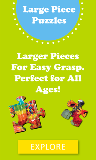 Large Piece Puzzles for All Ages!