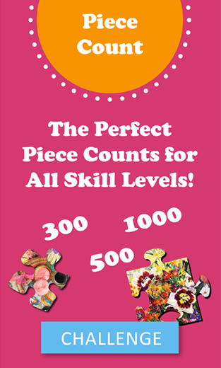 Piece Counts Perfect for All Skill Levels!