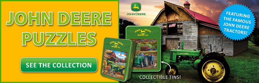 Browse the John Deere Collection at Puzzle Warehouse!