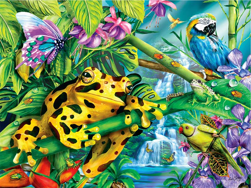 Frog Jigsaw Puzzles