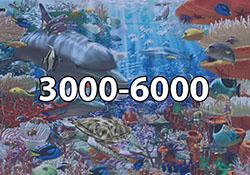 3000 - 6000 Pieces