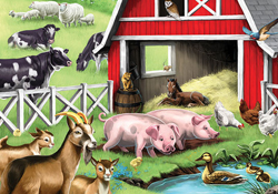 Farm Animal Jigsaw Puzzles