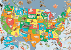 Geography & Nature Puzzles