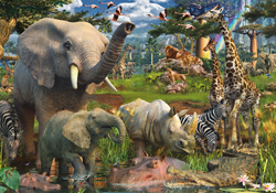 Jungle Animal Jigsaw Puzzles