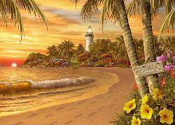 Beach & Lighthouse Puzzles