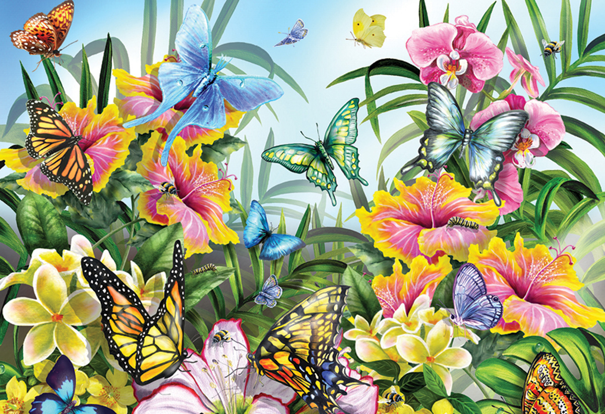 Butterflies and Insect Jigsaw Puzzles