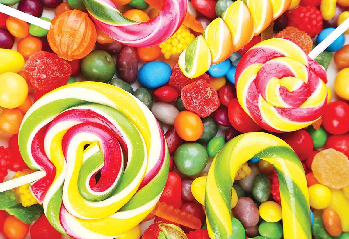 Candy Jigsaw Puzzles