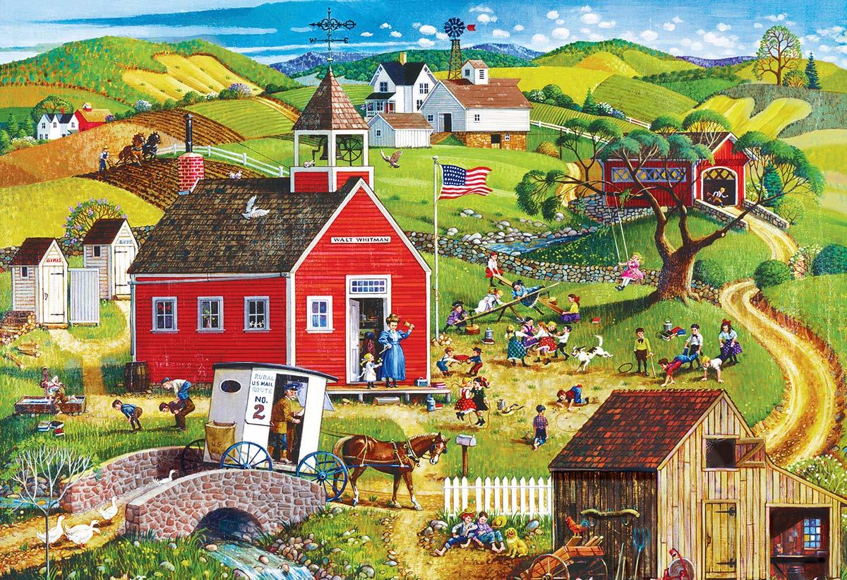 Folk Art Puzzles