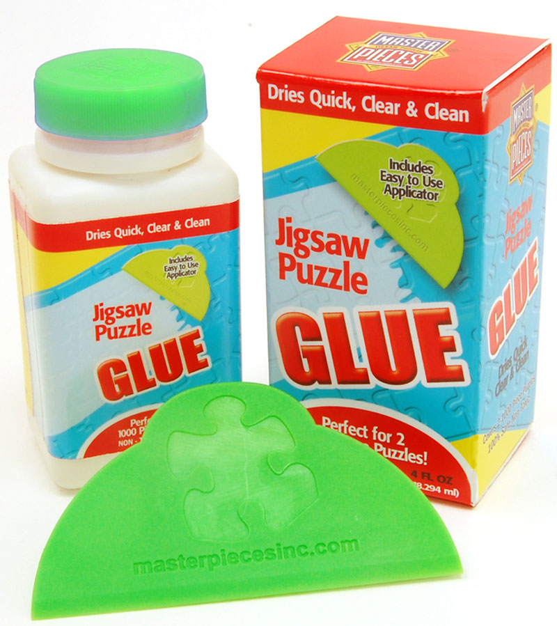 Jigsaw Puzzle Glue