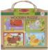 Green Start Wooden Puzzle - Playful Pals Animals Jigsaw Puzzle