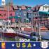 Newport RI Boats Jigsaw Puzzle