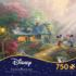 Mickey and Minne Sweetheart Bridge Disney Jigsaw Puzzle