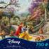 Snow White Dancing In The Sunlight Disney Jigsaw Puzzle