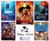 Pixar 5 in 1 Disney Jigsaw Puzzle