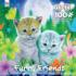 Cat Best Friends (Glitter) Cats Glitter / Shimmer / Foil Puzzles