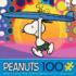 Peanuts Surf City Beach Jigsaw Puzzle