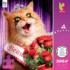 Beauty Queen Cats Jigsaw Puzzle