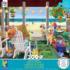 Beach House Beach Jigsaw Puzzle