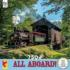 Covered Bridge Trains Jigsaw Puzzle