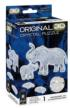 Elephant and Baby Elephants 3D Puzzle