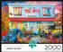 Country Delivery Street Scene Jigsaw Puzzle