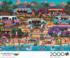 Hawaiian Food Truck Festival Beach Jigsaw Puzzle