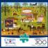 Bang, Boom, Barn & Pow Americana & Folk Art Jigsaw Puzzle