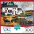 Birch Point Cove Seascape / Coastal Living Jigsaw Puzzle