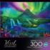 Enchanted Aurora Mountains Jigsaw Puzzle