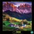 Santa Maddalena Village Mountains Jigsaw Puzzle