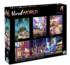 4-in-1 Vivid World Multipack Puzzles Travel Jigsaw Puzzle