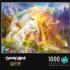Unicorn Sunset - Glitter Edition Fantasy Glitter / Shimmer / Foil Puzzles