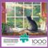 Birdwatching Cats Jigsaw Puzzle