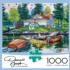 Cottage Retreat Summer Jigsaw Puzzle