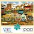 Pete's Gambling Hall Americana & Folk Art Jigsaw Puzzle